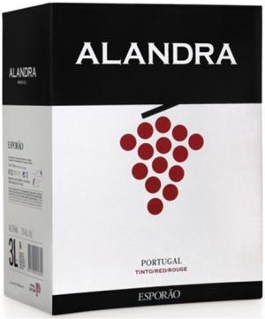 Esporao Alandra Rotwein Bag in Box 3L