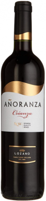 Anoranza Tempranillo Crianza Rotwein 2014 750ml