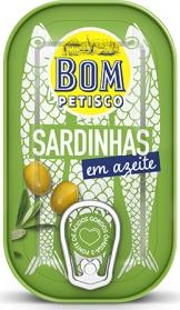 Bom Petisco Sardinen in Olivenöl 120g