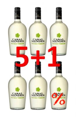 Casal Mendes Vinho Verde DOC 750ml Aktion 5+1