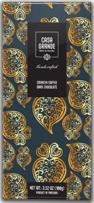 Casa Grande Dunkle Schokolade mit Kaffee 100g