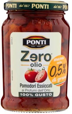 Ponti Zero Olio Getrocknete Tomaten 300g