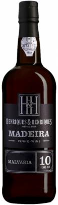 Henriques & Henriques Madeira Wein 10 Jahre Alt Malvasia 750ml