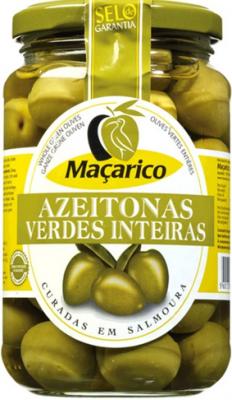 Macarico Grüne Oliven mit Stein 210g