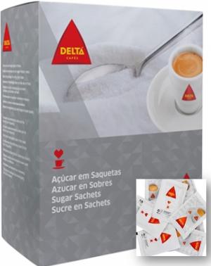 Delta weisser Zucker 1Kg, in Beutel portioniert