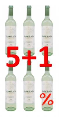 Namorada Vinho Verde DOC 2017 750ml Aktion 5+1
