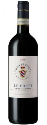 Villa Le Corti Chianti Classico Rotwein2016 750ml