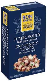 Bon Appetit Titenfisch mit Knoblauch 120g