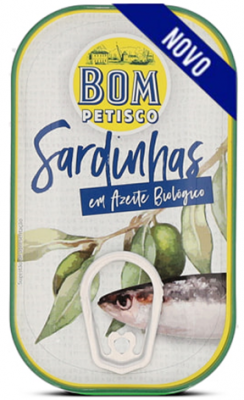 Bom Petisco Sardinen in Nativem Bio-Olivenöl Extra 120g