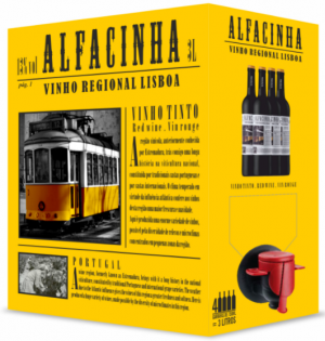 Alfacinha Rotwein Bag in Box 3L