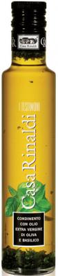 Casa Rinaldi Natives Olivenöl Extra mit Basilikum 250ml