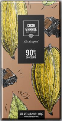 Casa Grande Dunkle Schokolade Mindestens 90% Kakao 100g