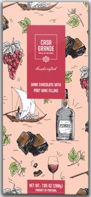 Casa Grande Dunkle Schokolade mit Portwein 200g