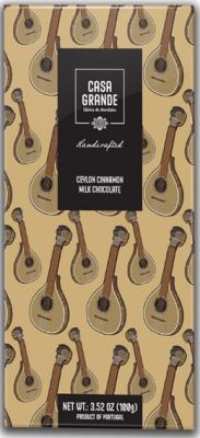 Casa Grande Milchschokolade mit Ceylon Zimt 100g