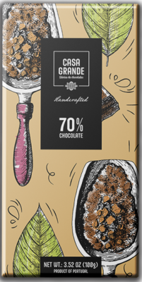 Casa Grande Dunkle Schokolade Mindestens 70% Kakao 100g