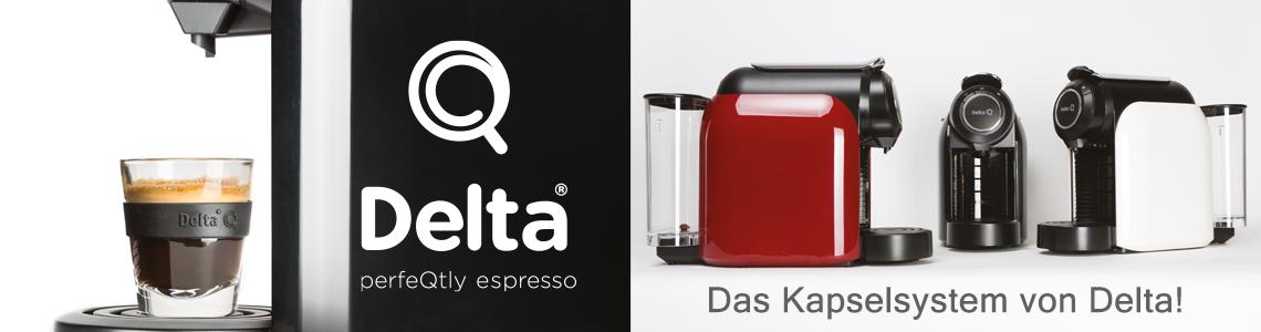 Delta Q, Das Kaselsytem von Delta Cafes