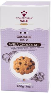 Confeitaria Vale Haselnuss- und Schokolade Plätzchen 200g