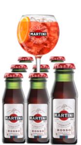Martini Rosso 'Martinitos' Pack 50x6cl