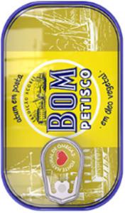 Bom Petisco (das Original) Thunfisch in Pflanzenöl 120g
