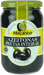 Macarico Schwarze Oliven mit Stein 210g