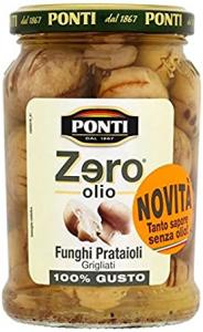 Ponti Zero Olio Gegrillte Wiesenpilze in Zwiebelsauce 300g