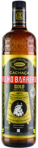 Velho Barreiro Cachaca Gold 700ml