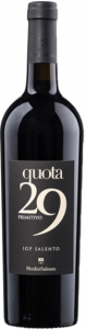 Quota 29 Primitivo Rotwein 2019 750ml