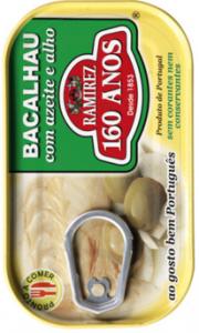 Ramirez Kabeljau in Olivenöl und Knoblauch 120g