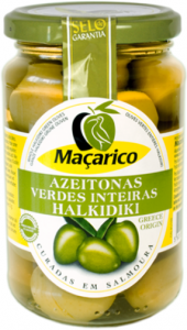 Macarico Halkidiki Oliven Jumbo aus Griechenland 200g