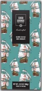 Casa Grande Dunkle Schokolade mit Fleur de Sel aus Alagarve 100g